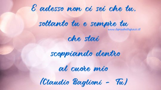 canzoni d amore frasi