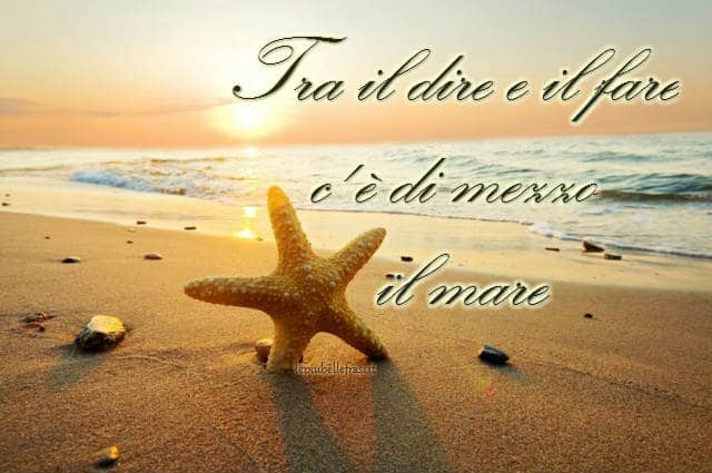 proverbio del mare