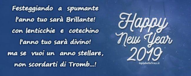 auguri di buon anno divertenti